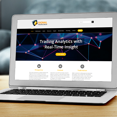 Trading Analytics Website